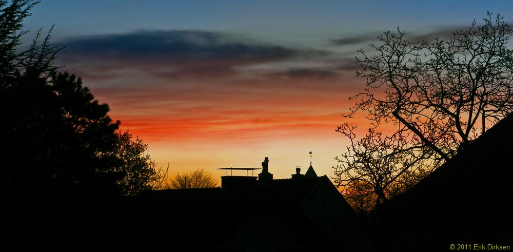Sonnenaufgang 05.04.2011
