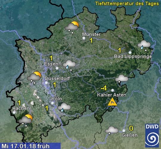 Morgen Früh Wetter